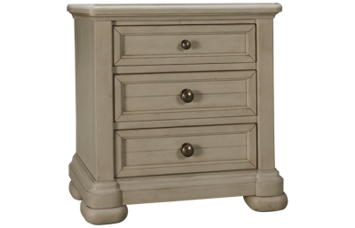 Klaussner Home Furnishings Nashville 3 Drawer Nightstand