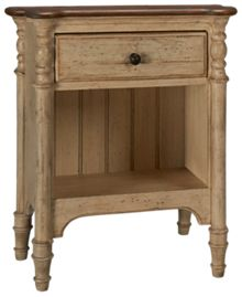 Kincaid Weatherford 1 Drawer Open Nightstand