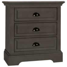 Winners Only Tamarack 3 Drawer Nightstand