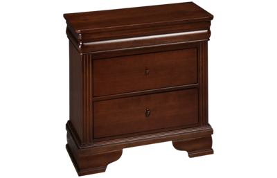 Vaughan-Bassett French Market 2 Drawer Nightstand