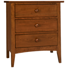 Kincaid Gatherings 3 Drawer Nightstand