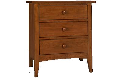 Kincaid Gatherings 3 Drawer Nightstand