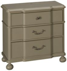 Universal Dogwood 3 Drawer Nightstand