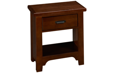 Vaughan-Bassett Bungalow 1 Drawer Nightstand