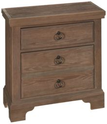 Vaughan-Bassett Whiskey Barrel 2 Drawer Nightstand