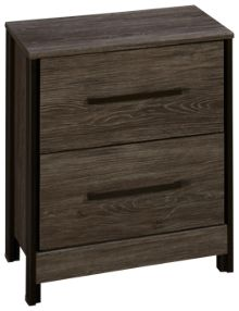 Ashley Cazenfeld 2 Drawer Nightstand