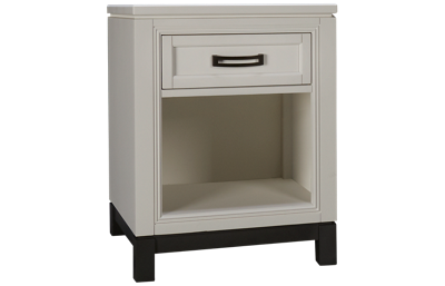Aspen Hyde Park 1 Drawer Nightstand