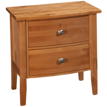 Mastercraft Urban Home 2 Drawer Nightstand