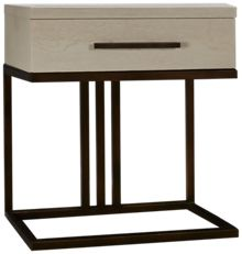 Universal Modern Spirit 1 Drawer Nightstand