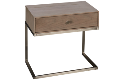 Universal Spaces 1 Drawer Tanner Nightstand