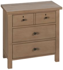 Universal Spaces 3 Drawer Nightstand