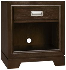 Aspen Front Street 1 Drawer Nightstand