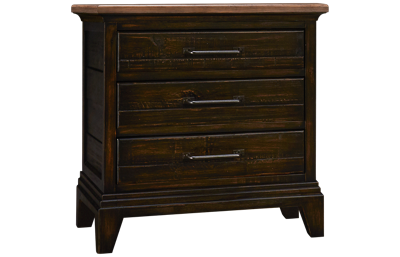 Kincaid Plank Road 3 Drawer Blair Nightstand