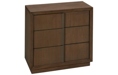 Klaussner Home Furnishings Melbourne 3 Drawer Nightstand