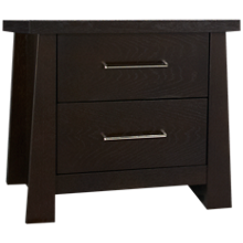 Ligna Furniture Zen 2 Drawer Nightstand