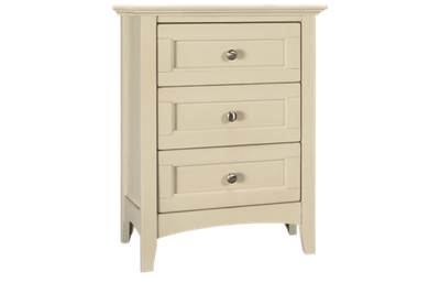 A America Northlake 3 Drawer Nightstand