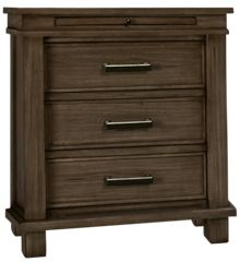 A America Glacier Point 3 Drawer Nightstand