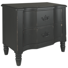Magnolia Home Saddle Back Nightstand