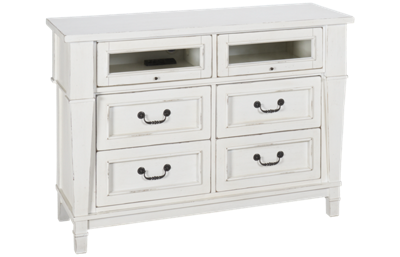 Folio 21 Furniture Stoney Creek 4 Drawer Media Chest