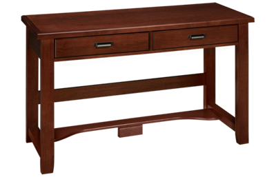 Vaughan-Bassett Bungalow 2 Drawer Laptop Desk