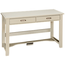 Vaughan-Bassett Bungalow 2 Drawer Laptop Desk