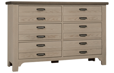 Vaughan-Bassett Bungalow 6 Drawer Double Dresser