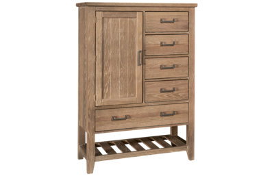 Vaughan-Bassett Passageways 1 Door 5 Drawer Chest