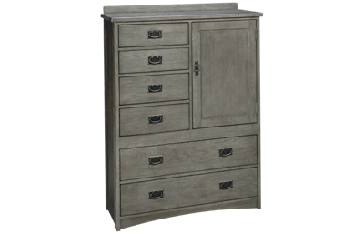 Intercon Oak Park 6 Drawer 1 Door Chest