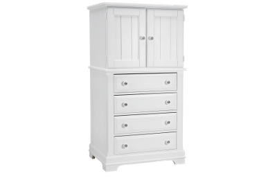 Vaughan-Bassett   Cottage 2 Door 4 Drawer Chest