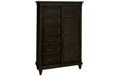 Magnussen Calistoga 6 Drawer 1 Door Gentleman's Chest