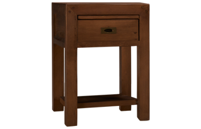 Four Hands Post And Rail Nightstand 1 Drawer 1 Shelf