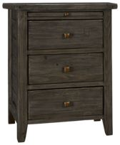 Four Hands Irish Coast Wide 3 Drawer Nightstand