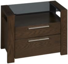 Casana Montreal 2 Drawer Nightstand