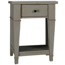 Folio 21 Furniture Stone Harbor 1 Drawer Nightstand