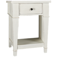 Folio 21 Furniture Stoney Creek 1 Drawer Nightstand