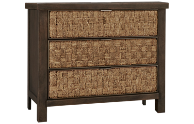 Liberty Furniture Farmhouse 3 Drawer Accent Nightstand
