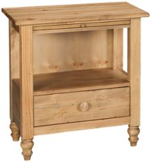 Kincaid Homecoming Pine 1 Drawer Nightstand