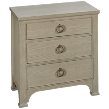 Universal Coastal Living 3 Drawer Nightstand