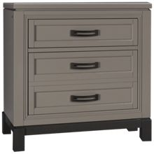 Aspen Hyde Park Liv360 2 Drawer Nightstand