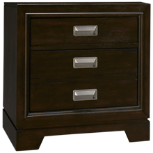 Aspen Front Street 2 Drawer Nightstand