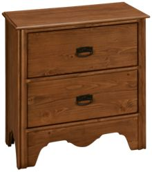 Magnolia Home 2 Drawer Nightstand