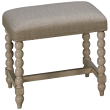 Klaussner Home Furnishings Nashville Vanity Stool