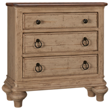Kincaid Weatherford 3 Drawer Nightstand