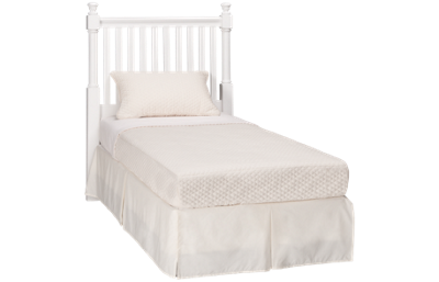 Vaughan-Bassett   Cottage Twin Slat Headboard