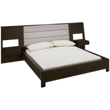 Casana Montreal Queen Platform Bed with Nightstands