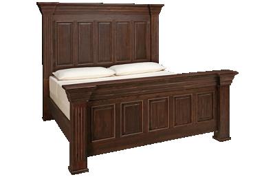 International Furniture Direct Terra King Bed