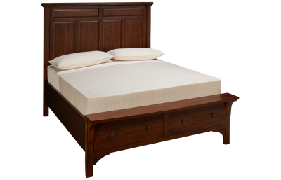 Napa Furniture Blackcomb Queen Storage Panel Bed