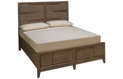 Magnussen Geometry Queen Panel Storage Bed