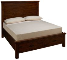 Napa Furniture Green Valley Queen Panel Storage Bed