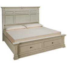 Aspen Granville King Panel Storage Bed